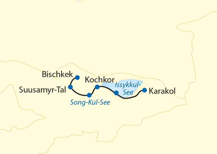 Die Bergriesen des Tien Shan und der Issyk-Kul-See (2020)