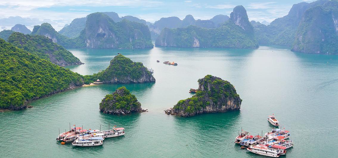 Reise in Laos, Vietnam