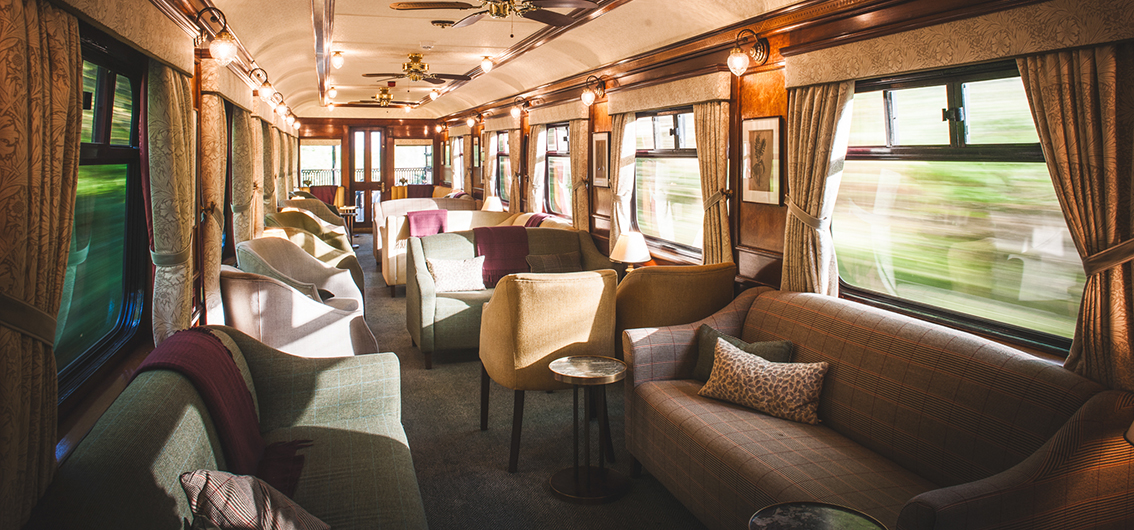 Ihr Lounge-Wagen im Royal Scotsman