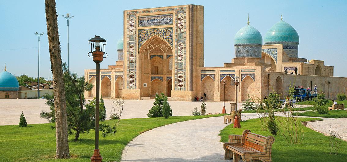 Day 9.  The Tracks to Tashkent