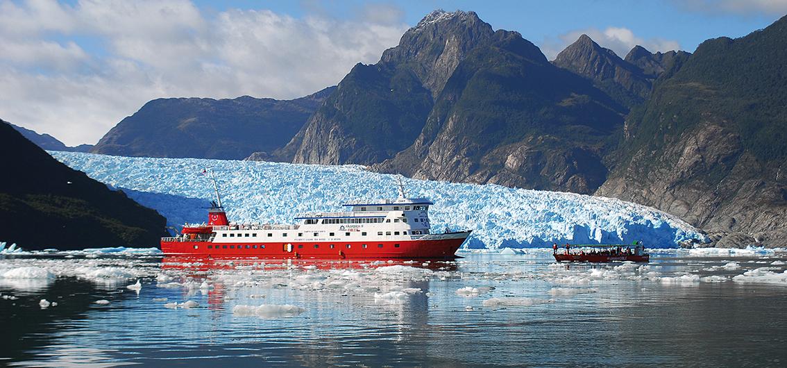 Reise in Argentinien, MV Skorpios II