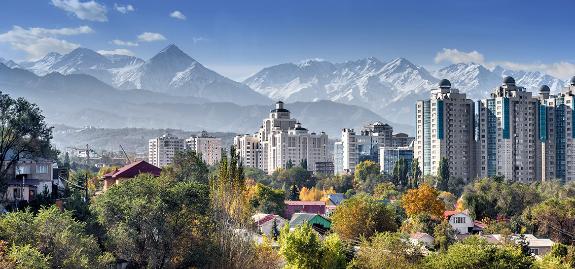 Day 1.  Almaty: Welcome to the Silk Road