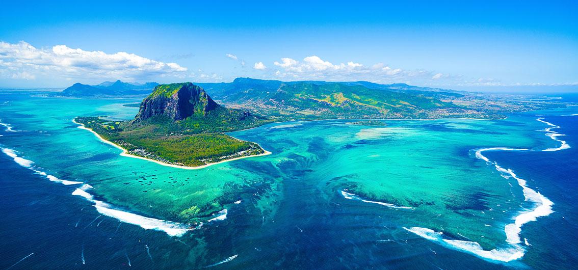 Reise in Madagaskar, Blick über Mauritius