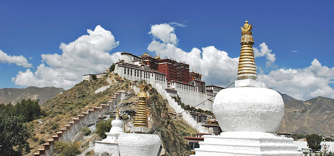 Reise in China, Tibet