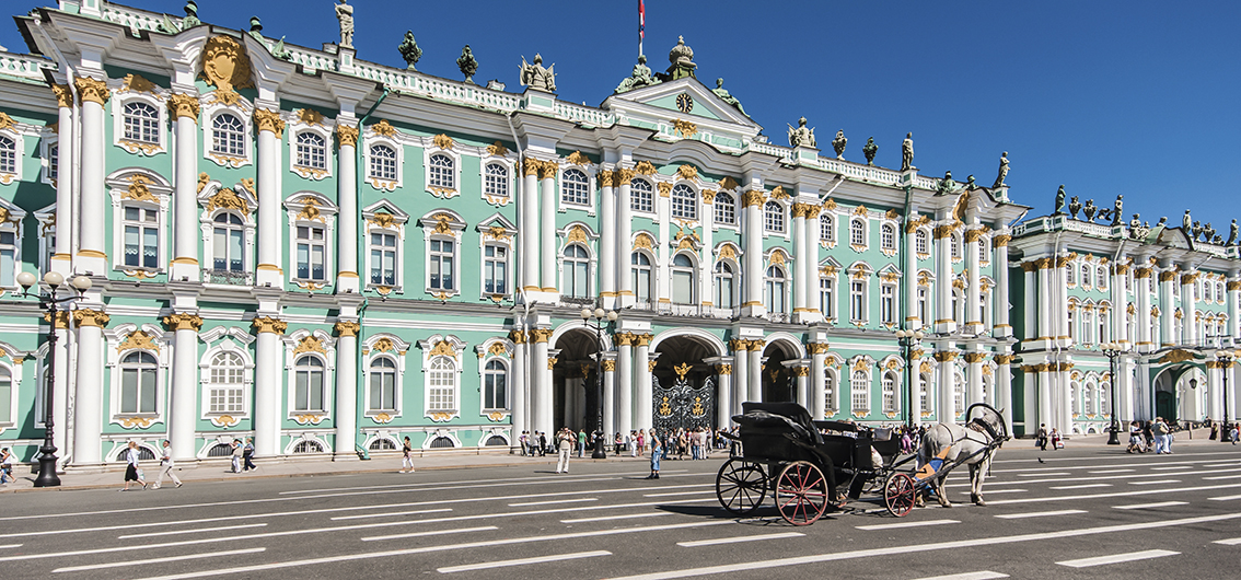 Day 12.  St. Petersburg: The Tsars' Crypt and a Treasure Trove of Art