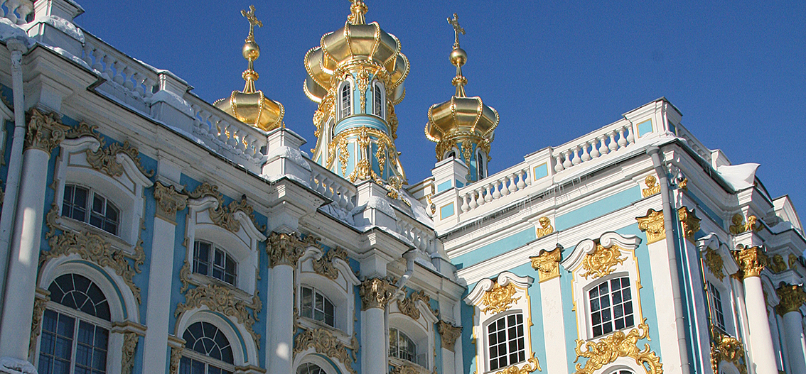 Day 11.  St. Petersburg: Castles of the Tsar and the Amber Room
