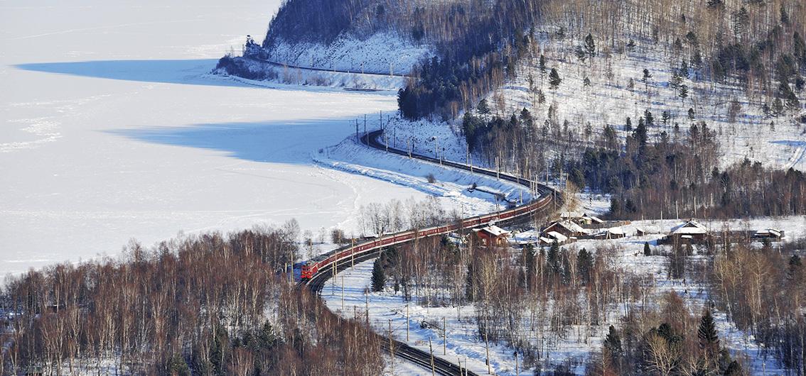 Vom Baikalsee durch die Mongolei ins Reich der Mitte im Winter