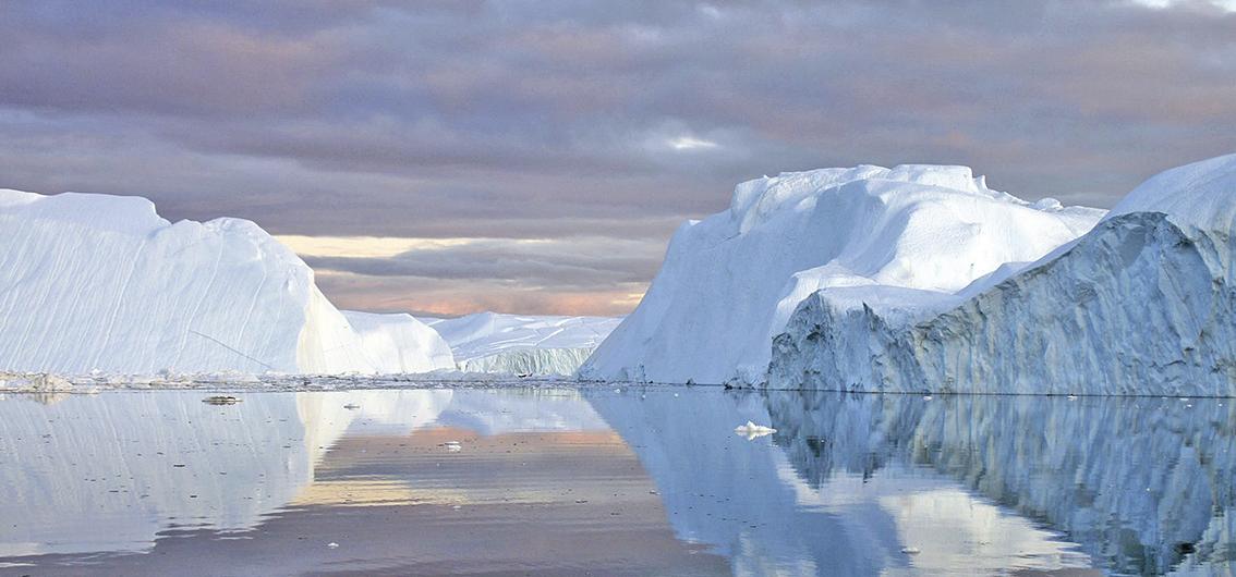 Reise in Grönland, In der Diskobucht