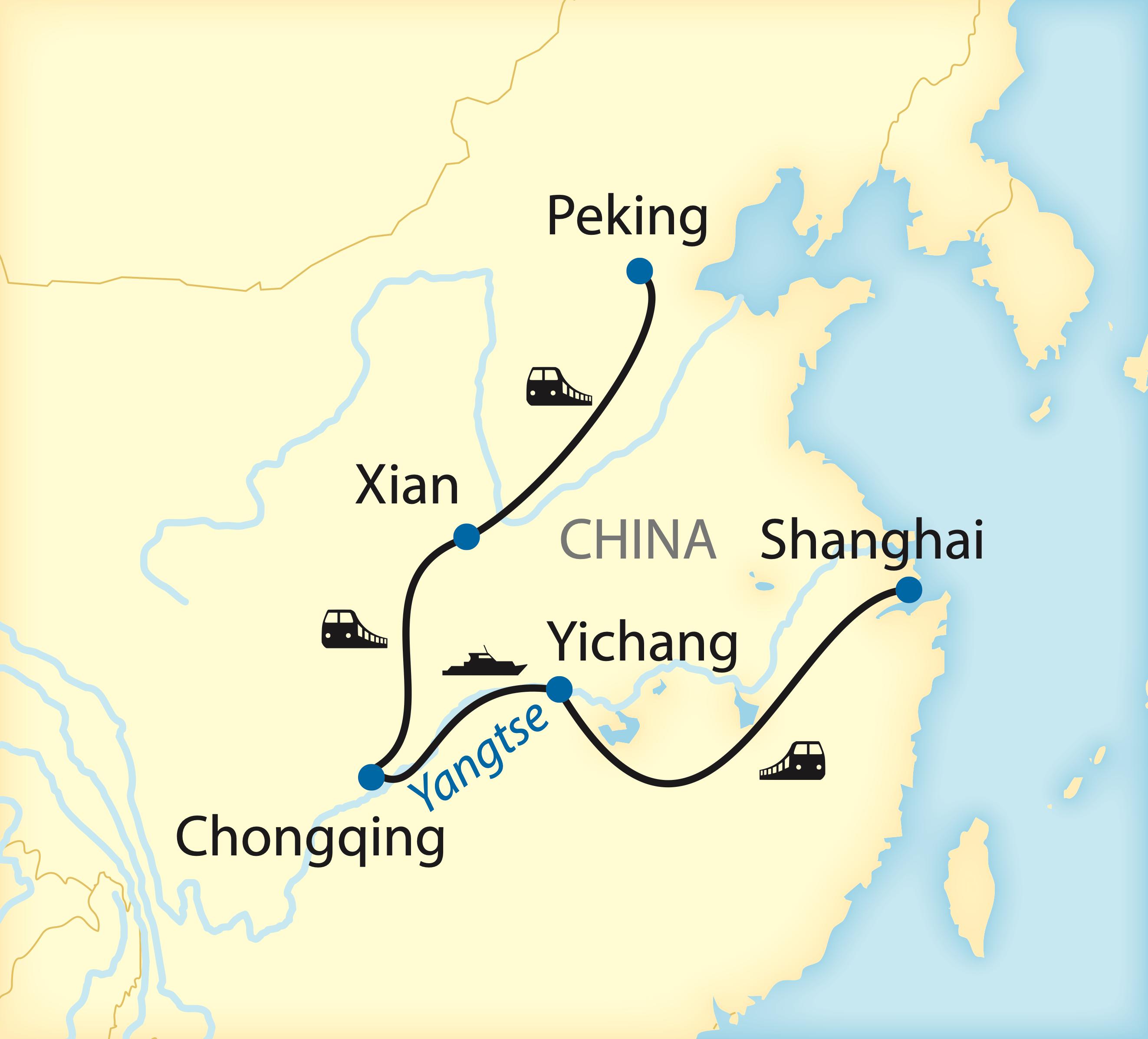 Rundreise durch China (2020)