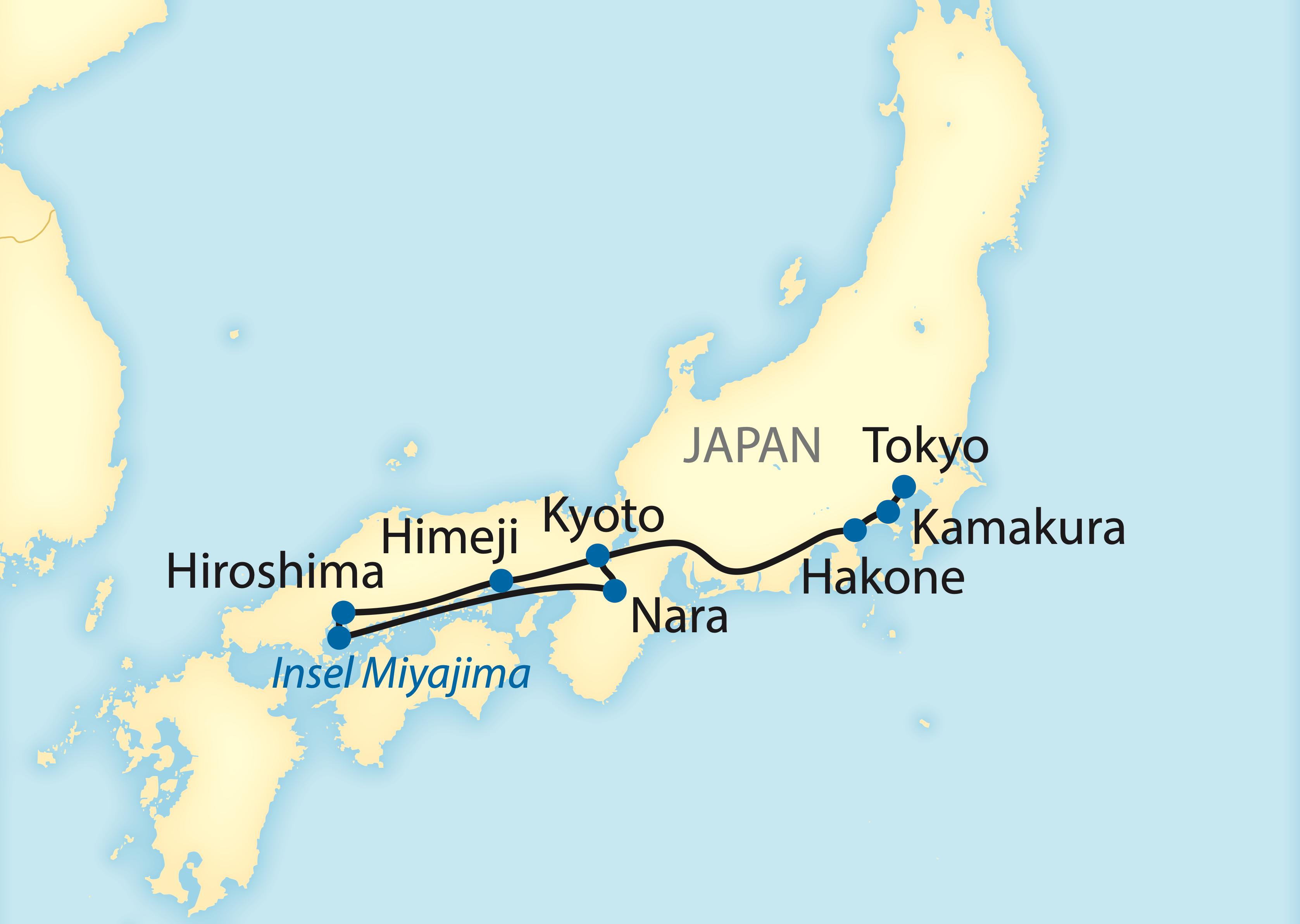Rundreise durch Japan (2021/2022)