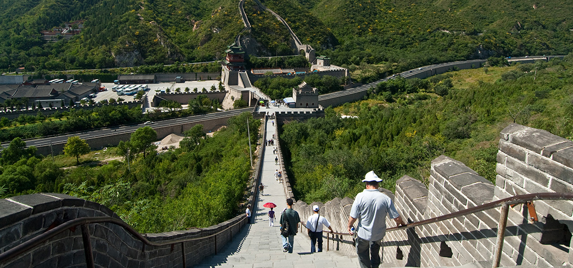 Day 2.  The Great Wall and Peking Duck