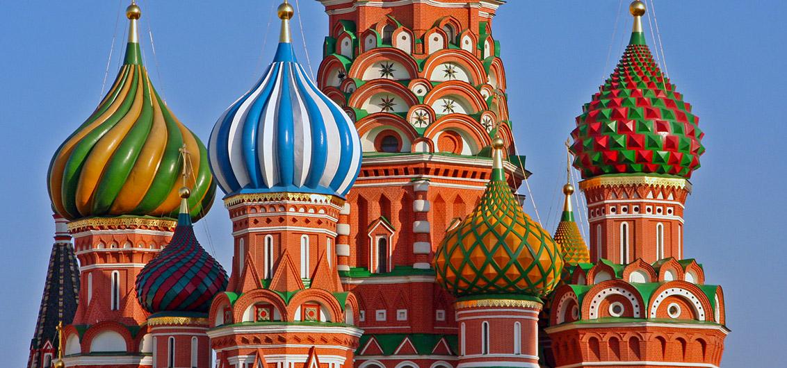 Reise in Russland, Moskau