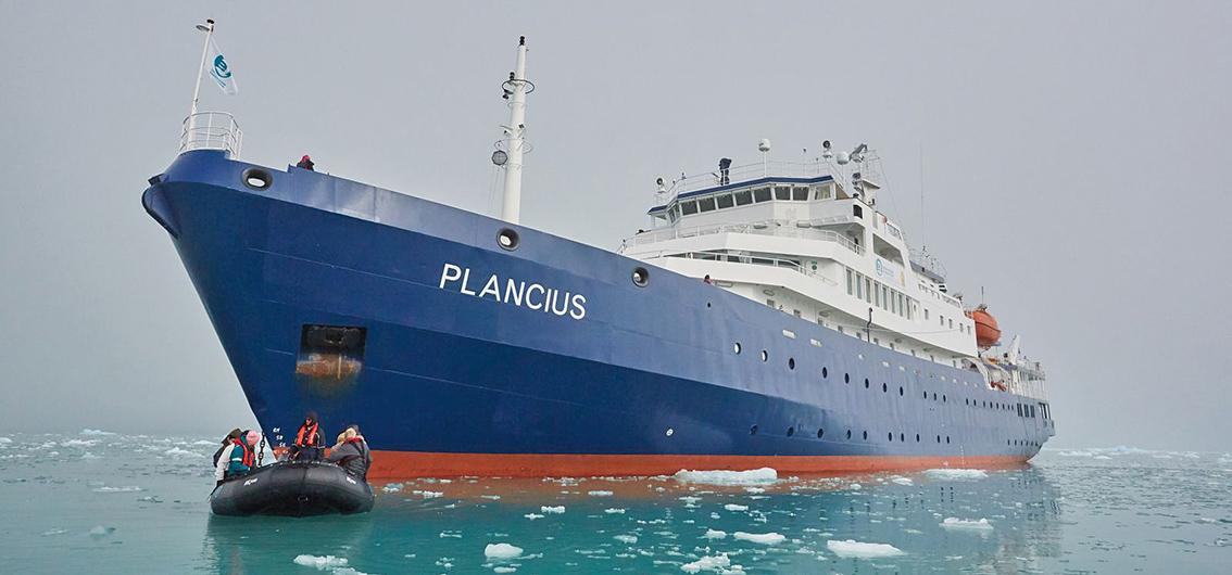 Reise in Grönland, MS Plancius