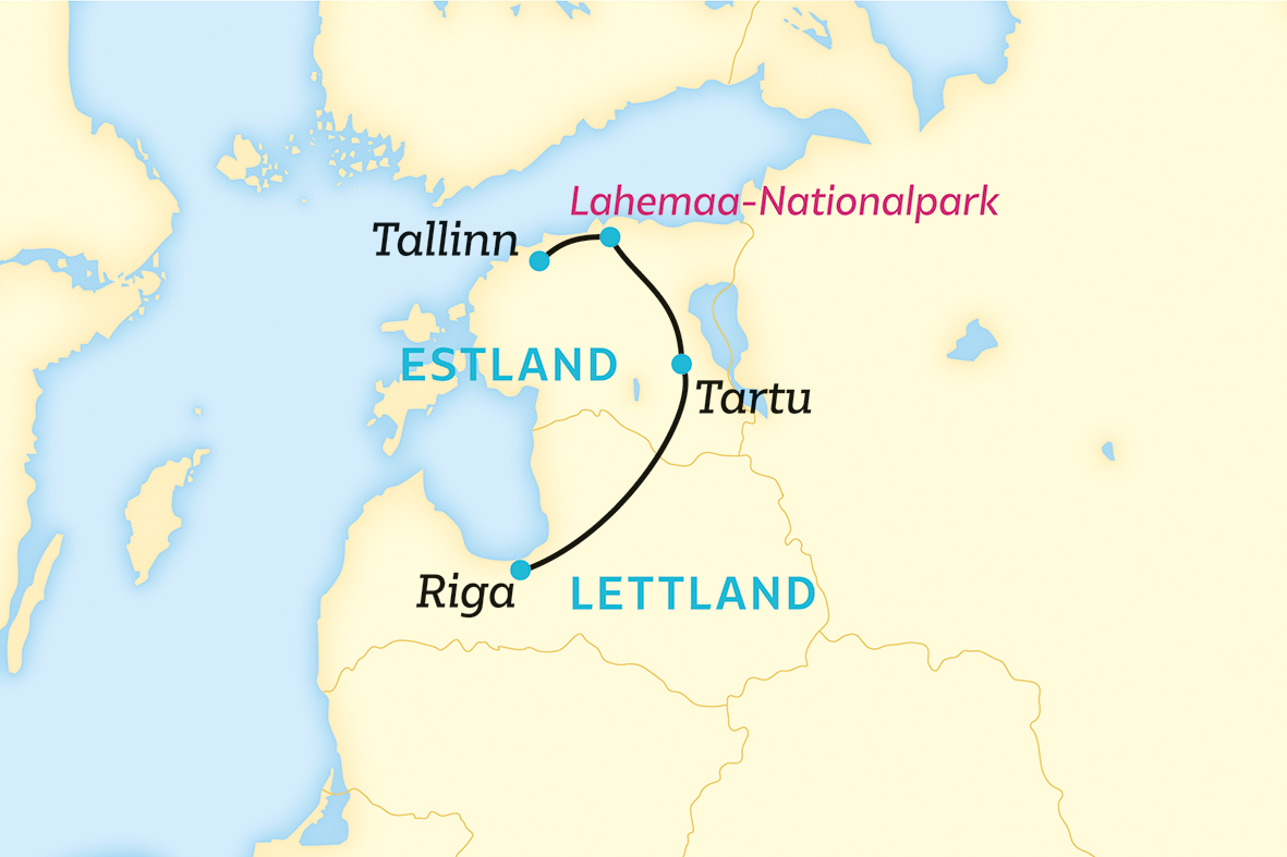 Baltikum: Einmal im Leben im besten Netz (2020/2021)