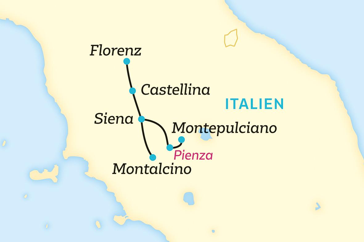 Gestatten: Toskana, typisch Toskana. (2020/2021)