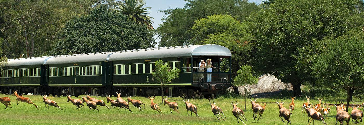 Reise in Angola, Rovos Rail