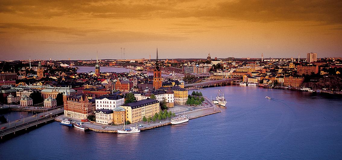 Reise in Finnland, Stockholm