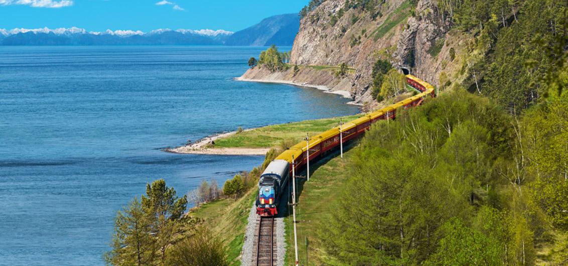 Lebenstraum: Reisen Sie auf der Transsibirischen Eisenbahn