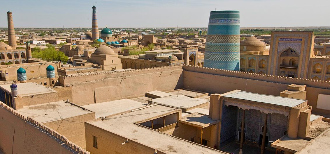 Day 9.  Khiva, UNESCO World Heritage Site