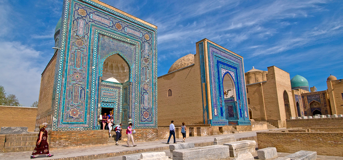Day 6.  Samarkand and Its Historic Center