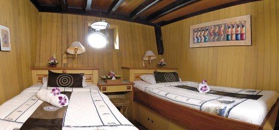 Kabine auf dem Oberdeck: MS Sea Safari VII