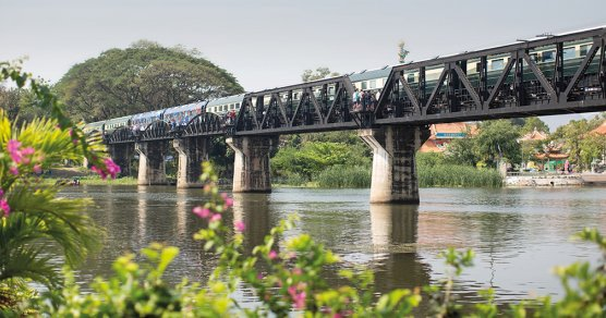Der Eastern and Oriental Express am River Kwai
