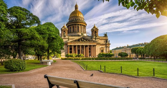 St. Isaak-Kathedrale in St. Petersburg, Russland