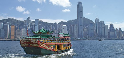 Tradition und Moderne in Hongkong
