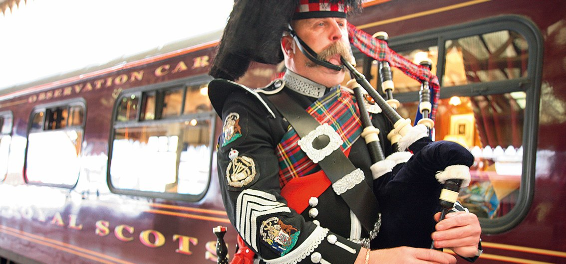 Schottische Folklore - Royal Scotsman