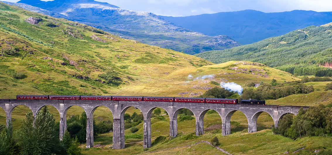 Royal Scotsman - Glenfinnan-Viadukt