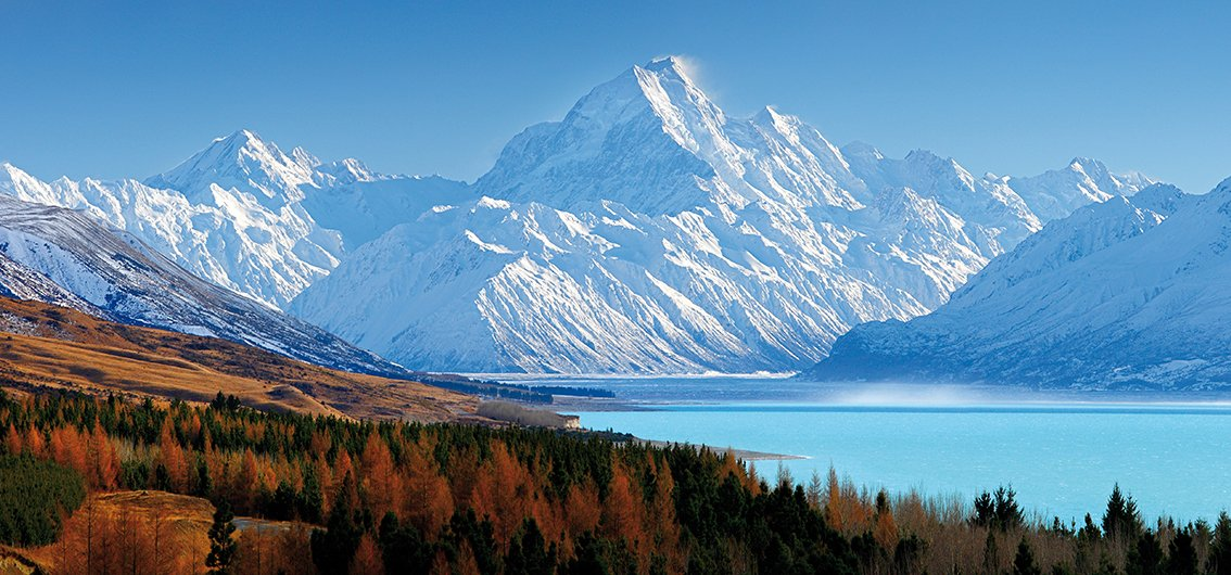 Mount Cook-Nationalpark in Neuseeland