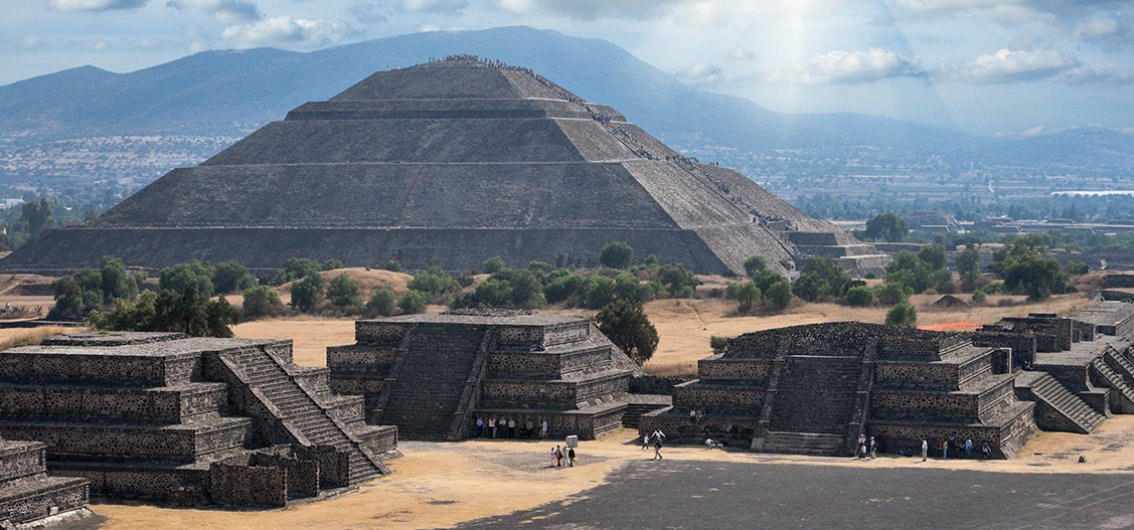 Pyramidenstadt Teotihuacán