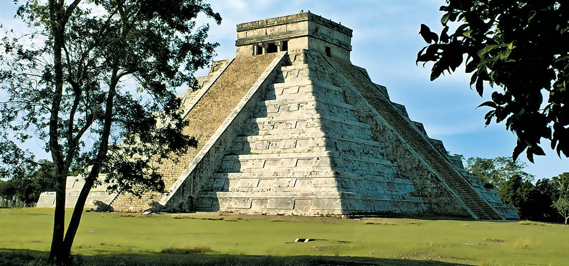 Chichén Itzá (UNESCO-Weltkulturerbe) in Mexiko
