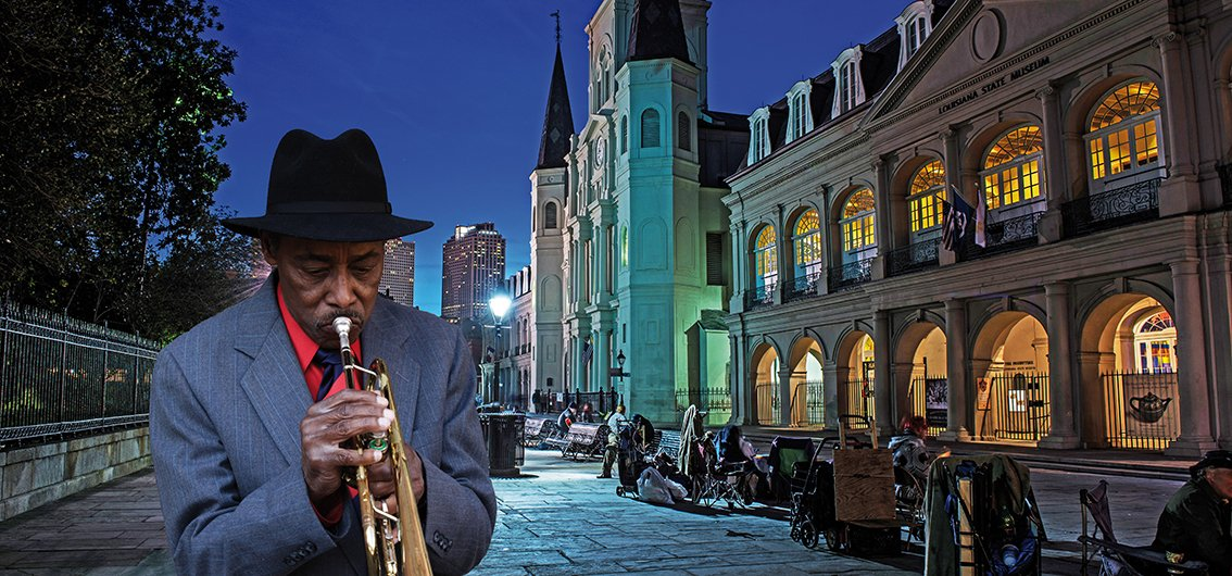 Jazz-Musiker in New Orleans