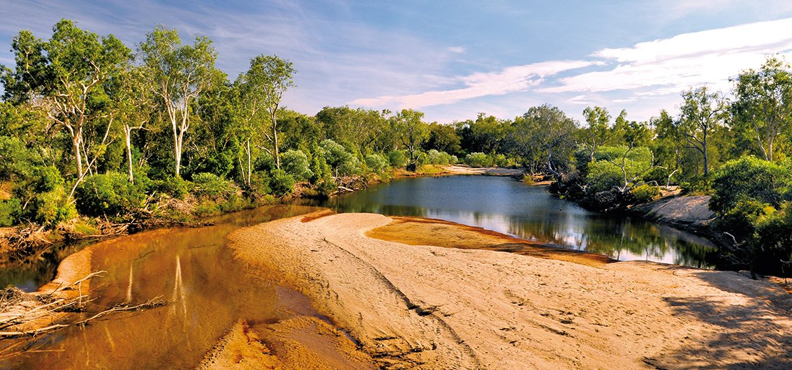 Barramundi Creek im Kakadu-Nationalpark, Australien