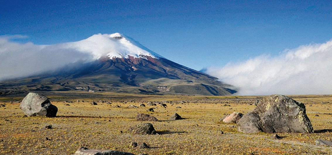 Nationalpark Cotopaxi in Ecuador
