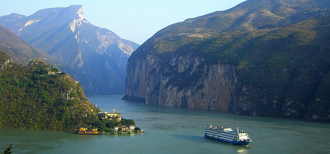 Yangtze-Fluss - China