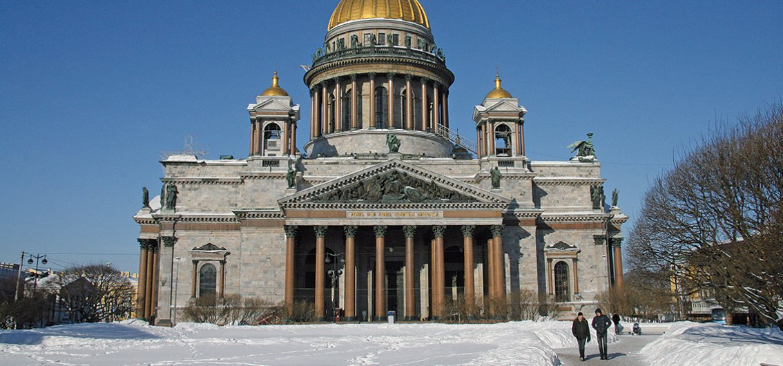 Isaaks-Kathedrale in St. Petersburg