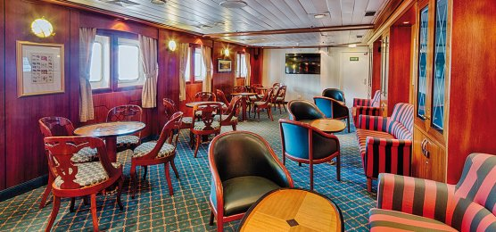 Yacht MS Emanuel - Lounge